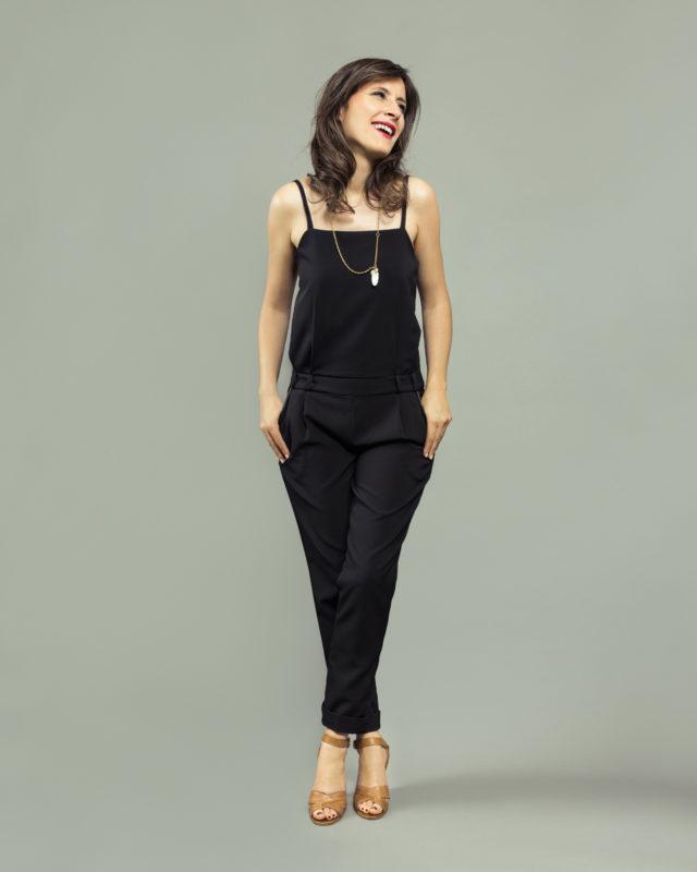 ORAGEUSE - Patrons de couture contemporains pour femme / contemporary sewing patterns for women - Combinaison/jumpsuit Copenhague.