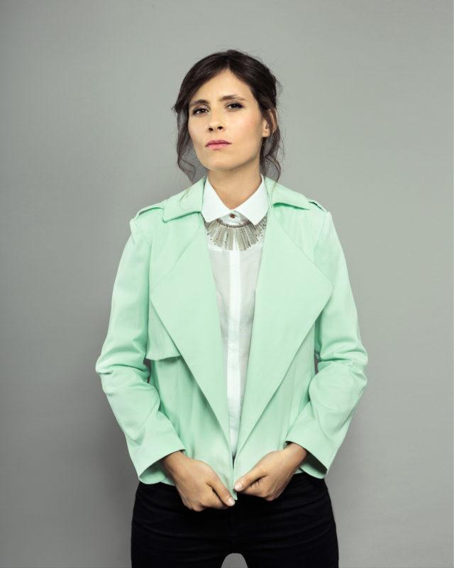 ORAGEUSE - Patrons de couture contemporains pour femme / contemporary sewing patterns for women - Veste/jacket Londres