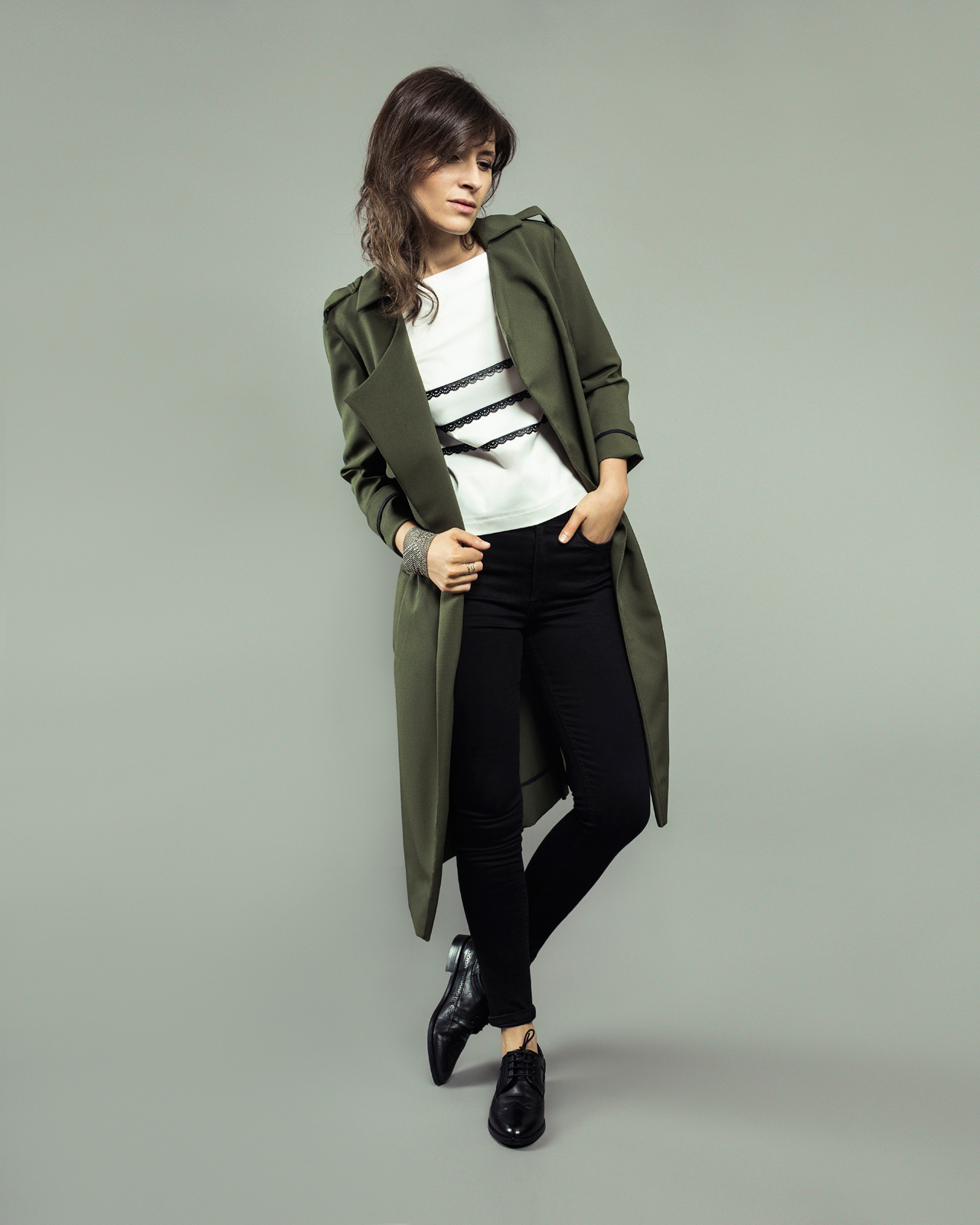 ORAGEUSE - Patrons de couture contemporains pour femme / contemporary sewing patterns for women - Trench Londres
