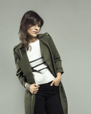 ORAGEUSE - Patrons de couture contemporains pour femme / contemporary sewing patterns for women - Trench Londres, top Paris