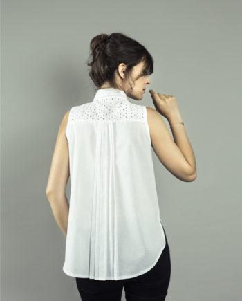 ORAGEUSE - Patrons de couture contemporains pour femme / contemporary sewing patterns for women - Chemise/shirt Rome