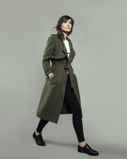ORAGEUSE - Patrons de couture contemporains pour femme / contemporary sewing patterns for women - Trench Londres