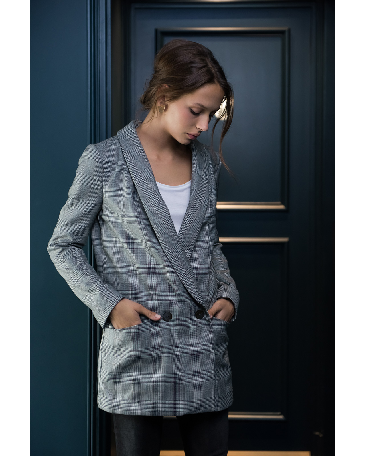 Patron veste femme ample